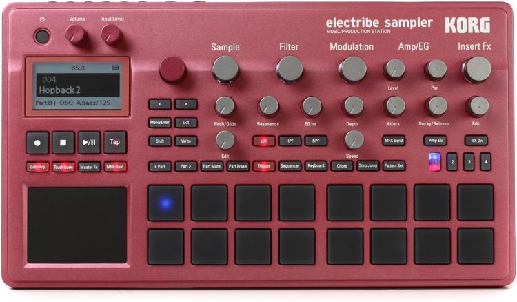 Korg Electribe Sampler Rojo