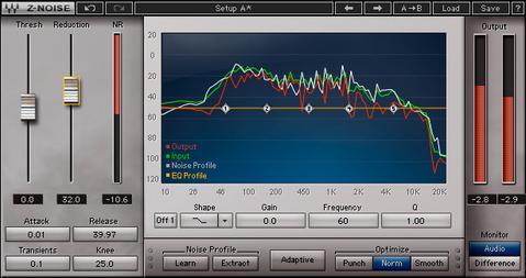 noise gate para reducir el ruido