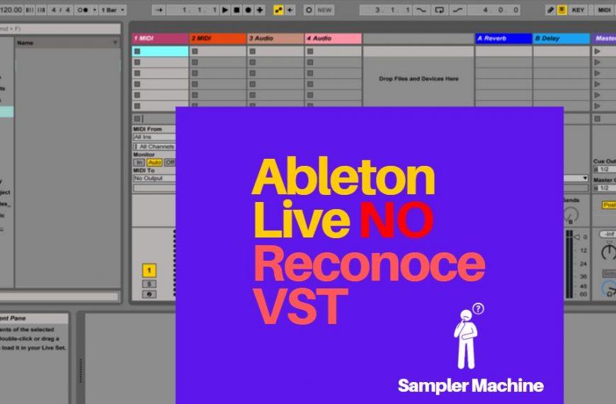 Ableton no reconoce VST: Activar Plugins en Live 10